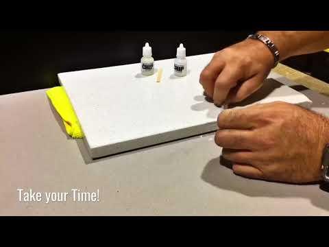 Caesarstone Chip Repair Kit -DIY Quartz Countertop Chip Repair KIT
