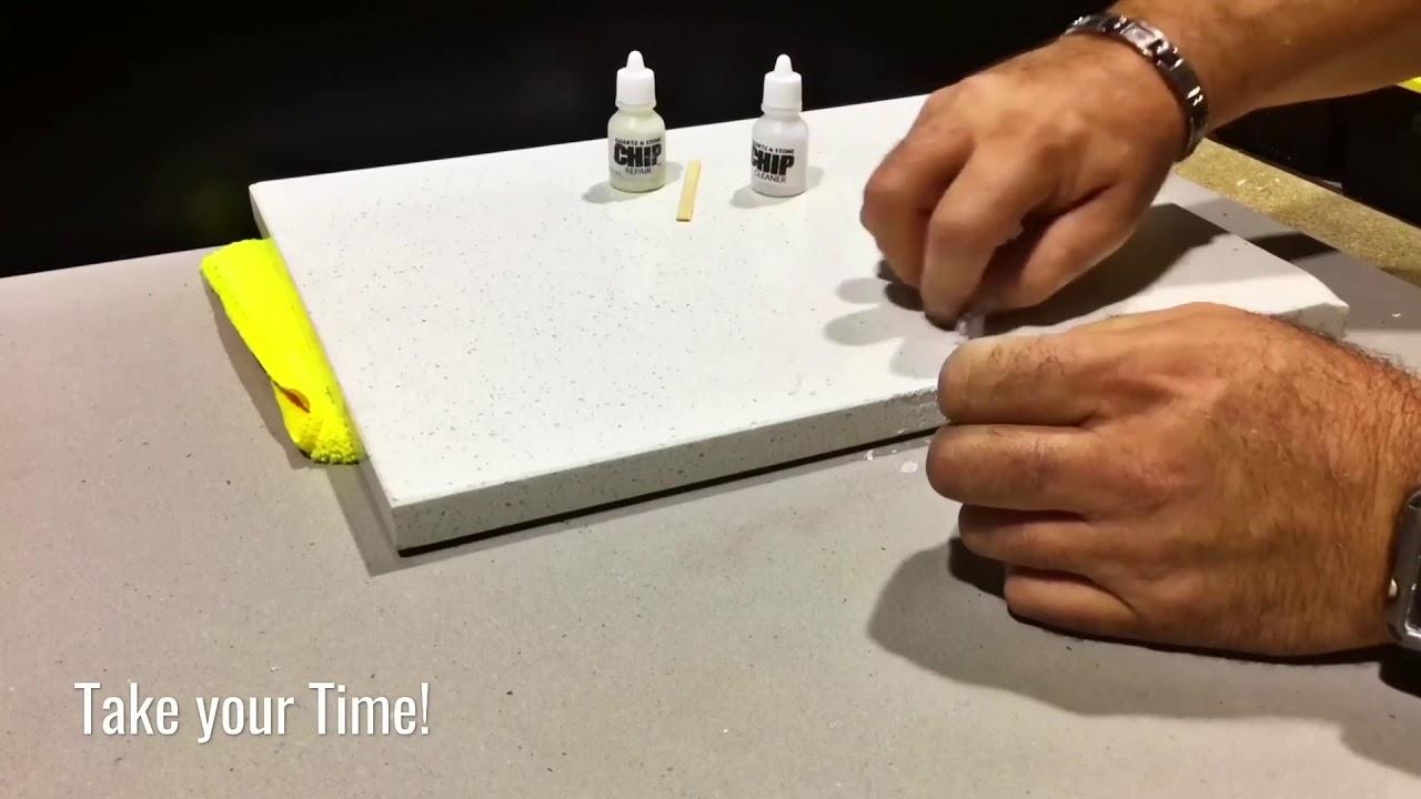 Caesarstone Chip Repair Kit Diy Quartz Countertop