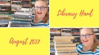 Library Haul August 2017 // Me, Simone & I