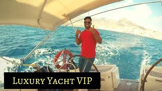 The Blue Jack Sail, Tenerife Luxury Yacht VIP