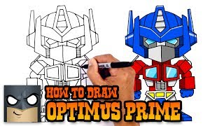 How to Draw Optimus Prime | Transformers