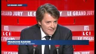 François Baroin invité du Grand Jury du 15 septembre 2013