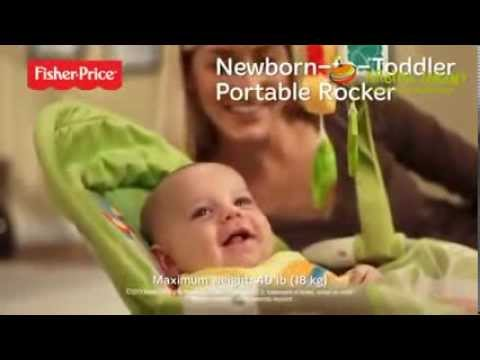 0e25d676381 Fisher Price BCD28 Ρηλάξ - Κούνια - YouTube