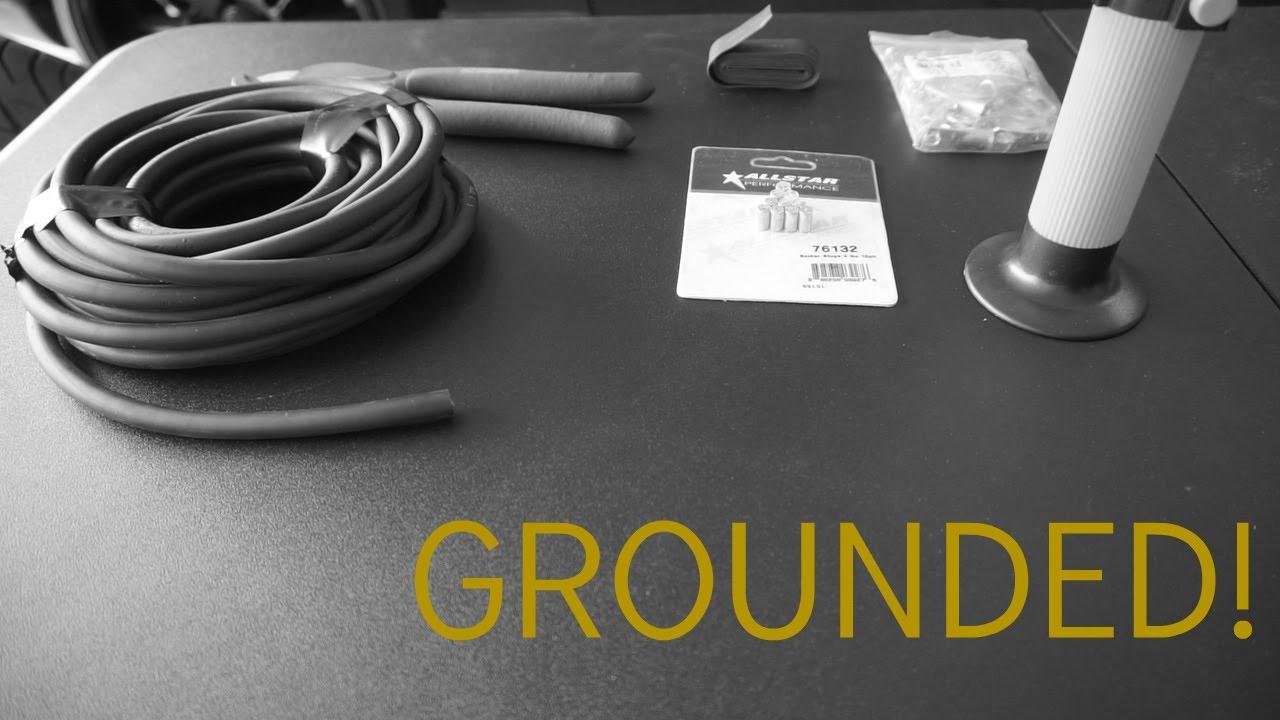 sc300 soarer 1jz ground wiring upgrade [ 1280 x 720 Pixel ]
