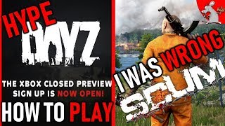 HOW TO PLAY DAYZ ON XBOX ONE? 👊 I WAS WRONG ABOUT SCUM😱