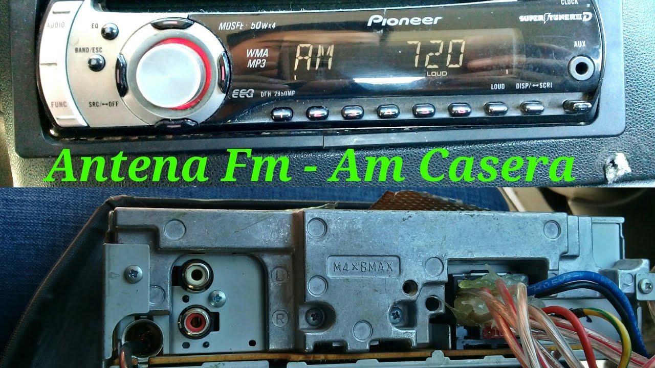 Discos antena para el interior FM amplificador antena de radio antena radio KFZ