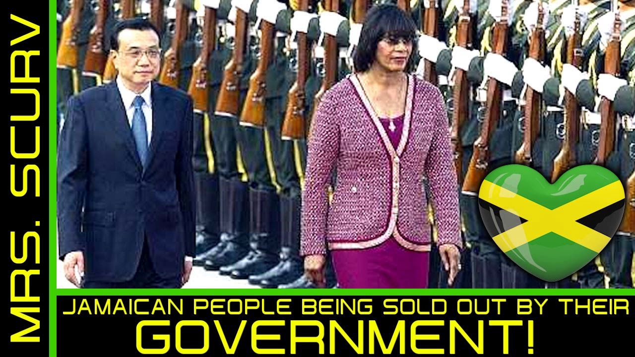 JAMAICAN PEOPLE BEING SOLD OUT BY THEIR GOVERNMENT! - The LanceScurv Show