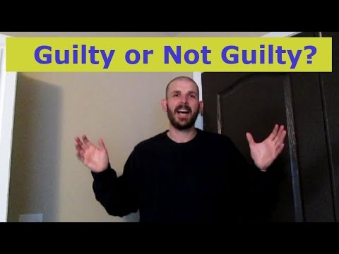First Jury Duty Experience - Attempted Murder - Love Triangle - Guilty or Not Guilty?