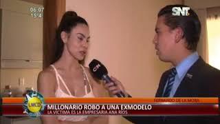 Millonario robo a una ex modelo