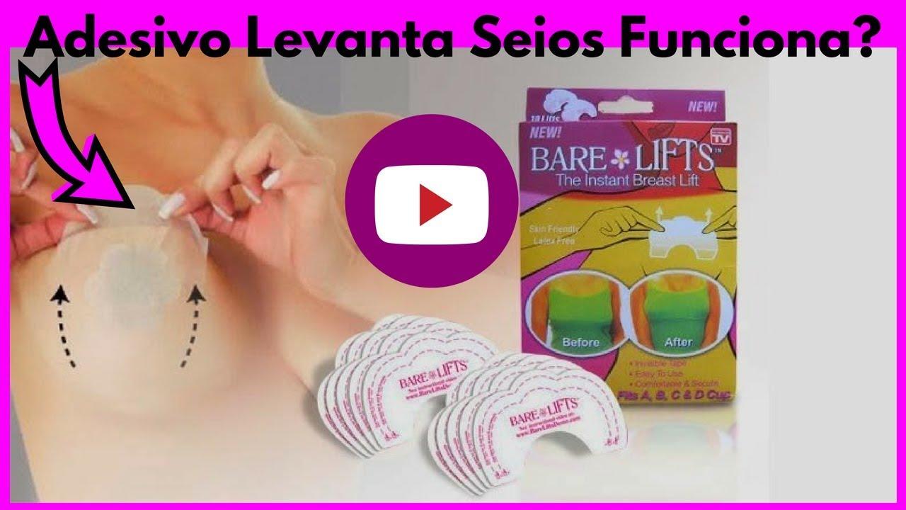 d907199a6 Adesivo Levanta Seios Funciona  -Bare Lifts Como Levantar Seios ...