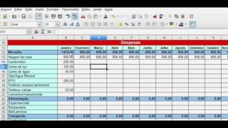 Planilha de Controle Financeiro Simples 2019