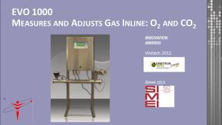 Dissolved gas management in oenology
