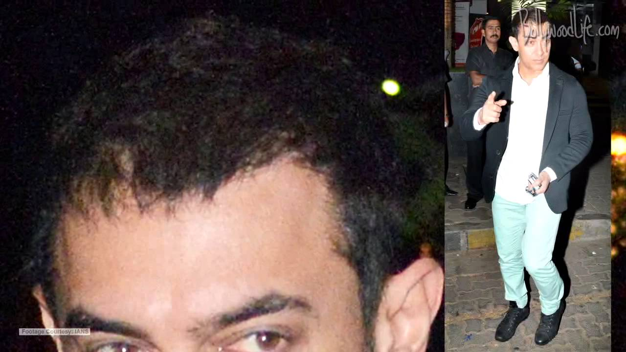 Does Aamir Khan Need A Hair Transplant Youtube