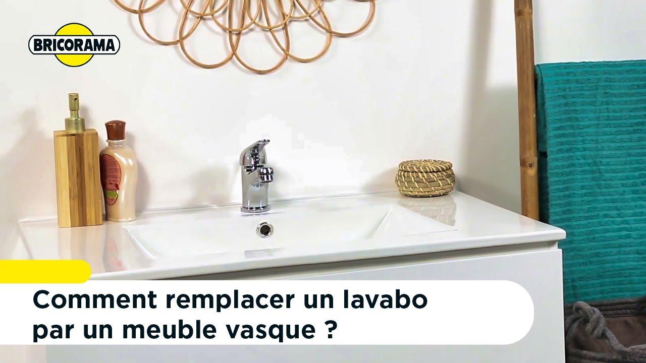 Tuto Remplacer Un Lavabo Par Un Meuble Vasque Bricorama Youtube
