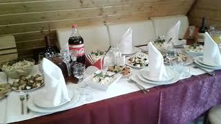 """Свадьба за городом. Банкетный  зал """"У Евгенича """" Гатчина"""