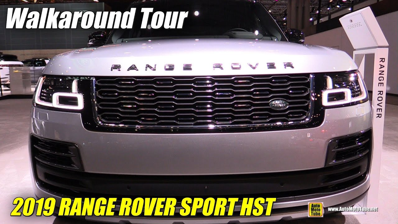 2020 Range Rover Sport Hst Exterior And Interior Walkaround 2019 Ny Auto Show