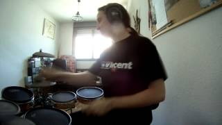 Sonata Arctica - The rest of the sun belongs to me Drum cover