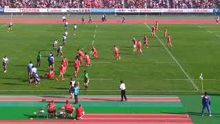 Japan rugby KOBELCO steeler  VS YAMAHA Rugby games