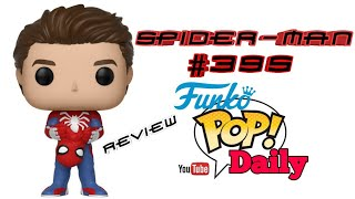 A close up view and review of Spider-man #395 funko pop