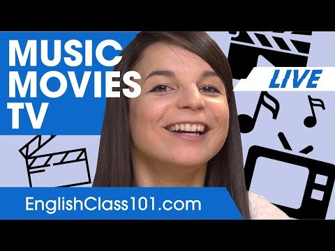 How to Talk about Music, Movies & TV? - Basic English Phrases