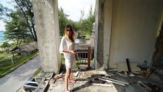 Заброшенный после цунами отель на Пхукете