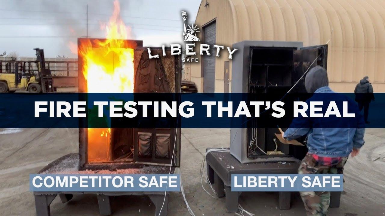 Liberty Safe's Hot Furnace Challenge