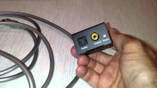 Como conectar TV LED o LCD nueva a Equipo estéreo antiguo