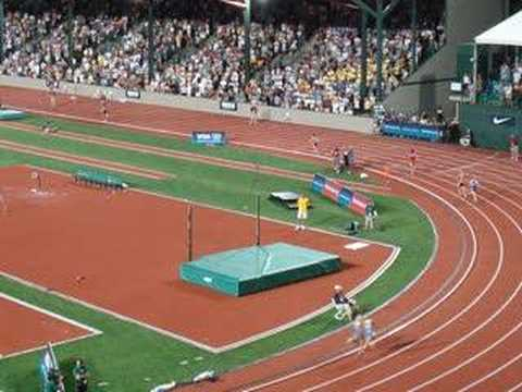 Amy Begley in 2008 Olympic Trials Eugene Oregon