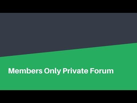 Members Forum