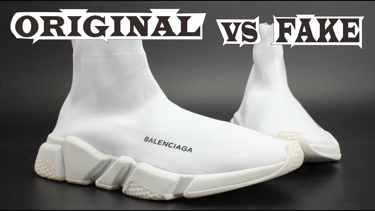 bb51cf5b781 Balenciaga Speed Trainer Original & Fake