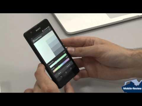 Видеообзор Sony Xperia ZR