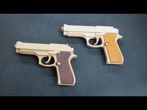 M9 Rubber Band Gun