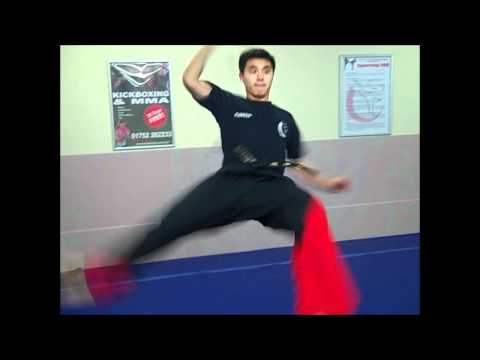 Andy training the Nunchaku | 30 Days FREE | Martial Arts Plymouth