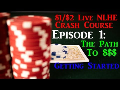 How To Beat 1/2 Live Poker! Live 1/2 NLHE Crash Course Ep 1 - Getting Started At 1/2 NLHE