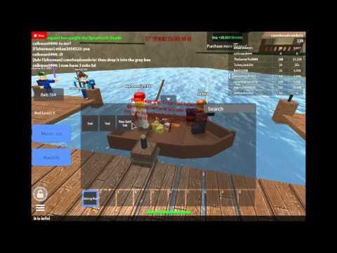 Fishing Simulator 2015 (Roblox) Infinite Inventory Exploit ...