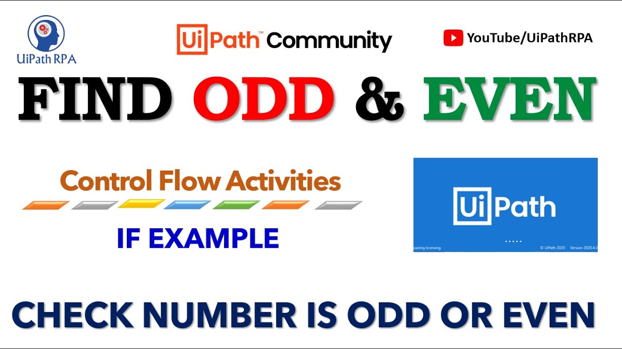 How to Find Odd even number in UiPath|UiPath RPA Tutorial in Hindi