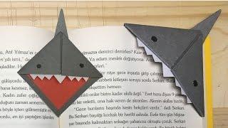 Köpek Balığı Kitap Ayracı Nasıl Yapılır ? 🦈