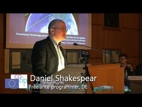 Part 28. Daniel Shakespear (Freelance programmer, DE)