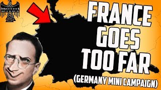 France Forces Me to Conquer Them! Hearts of Iron 4 Fuhrerreich (Mini Campaign #2)