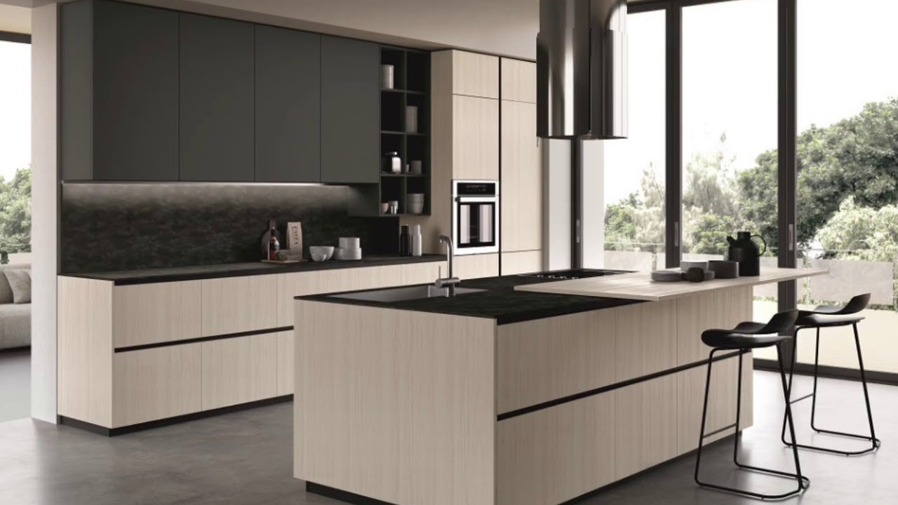 EVOLVE4 - Cucine moderne by Cucinesse - YouTube
