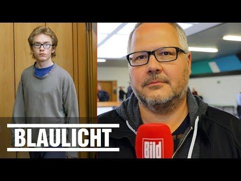 Marcel Heße vor Gericht - So erlebte der BILD-Reporter den Kinderkiller