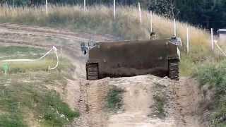 Houpačky ve vozidle bojové pěchoty