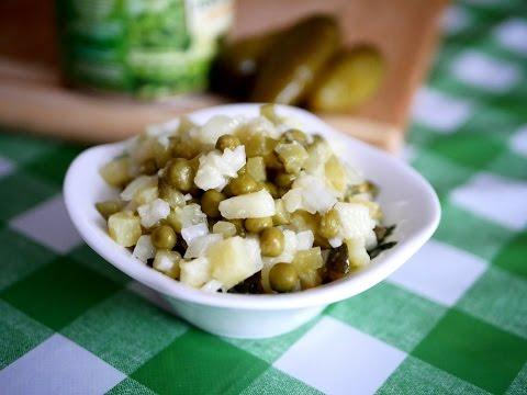 Картофельный Салат. Простой рецепт вкусного салата.
