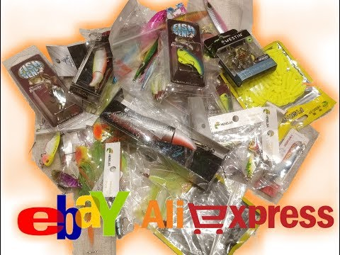 Unboxing TONS Of CHEAP Lures From Ebay And Aliexpress Ep.84