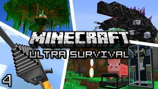 Minecraft: Ultra Modded Survival Ep. 4 - DAT AXE!