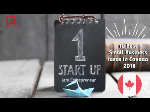 Top 10 Best Small Business Ideas in Canada 2018   YouTube