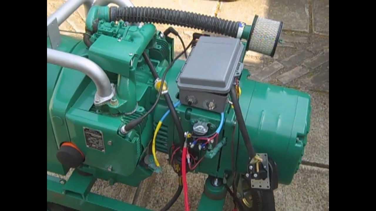 Onan 65 NH Generator  YouTube