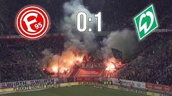 Erstes Heimspiel 2020!!! ⚽ Tor, Highlights, Support & Pyro ⚽ Fortuna Düsseldorf 0:1 SV Werder Bremen