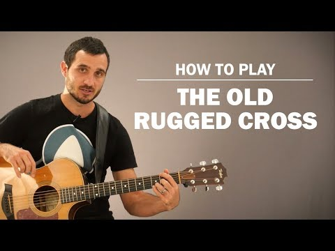The Old Rugged Cross | How To Play | Beginner Guitar Lesson