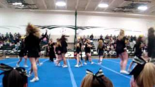 University of Wisconsin Oshkosh Cheerleadiing Exhibition at KML